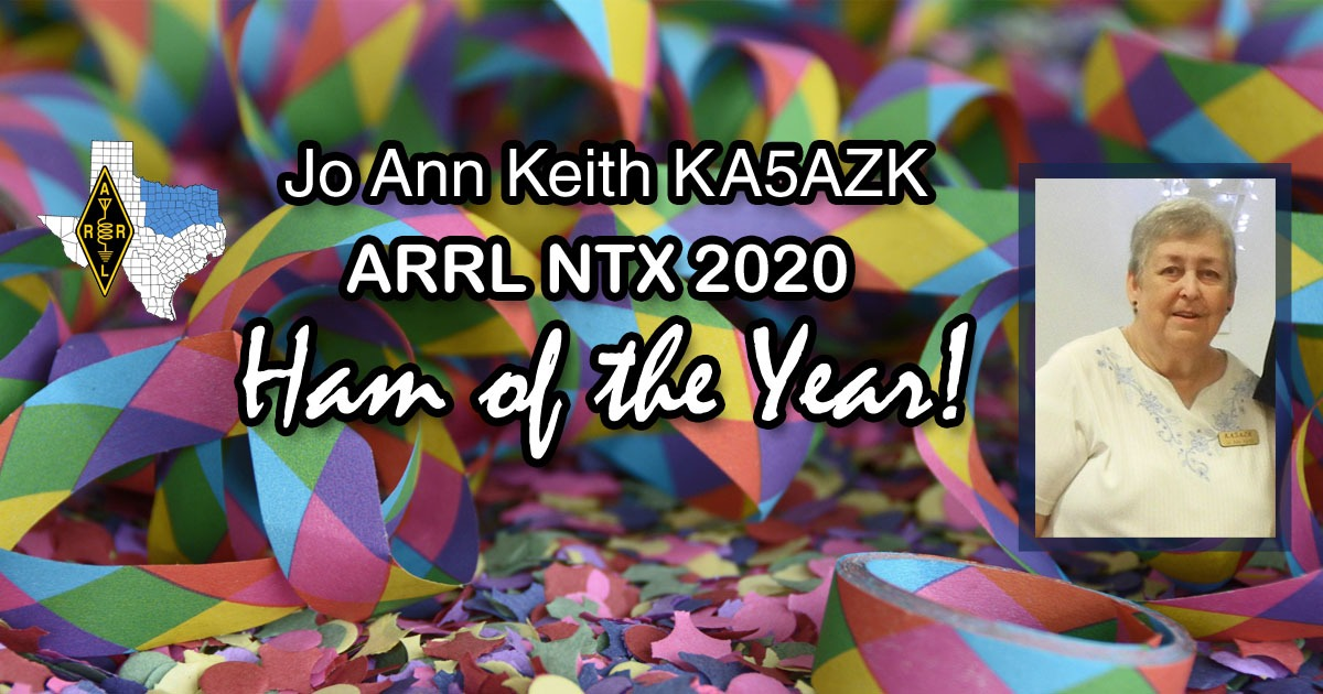2020 Ham Of The Year banner