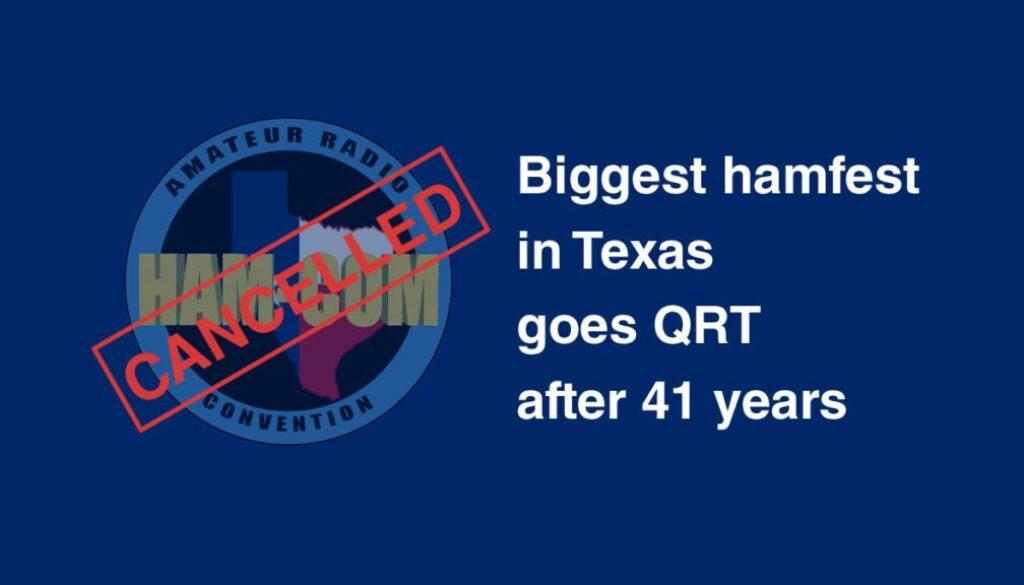 Ham-Com QRT after 41 years