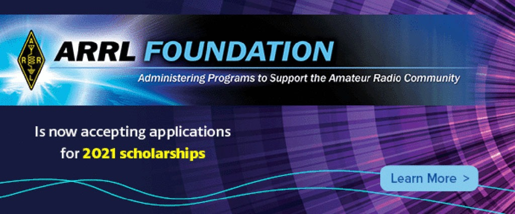 ARRL_Foundation_accepting_2021_scholarships