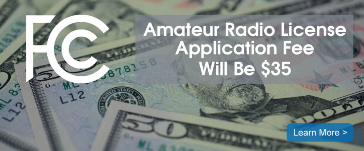 FCC Adopts $35 Amateur Radio Application Fee