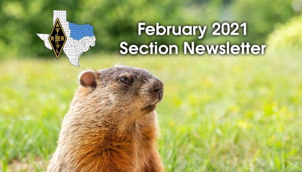 ARRL North Texas February 2021 Newsletter