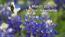 ARRL North Texas March 2021 Newsletter