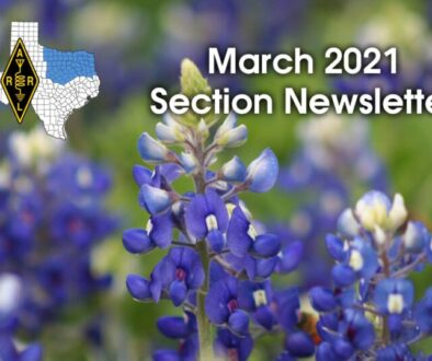 ARRL North Texas March 2021 Newsletter