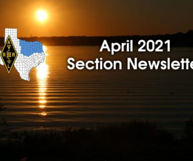 ARRL North Texas April 2021 Newsletter